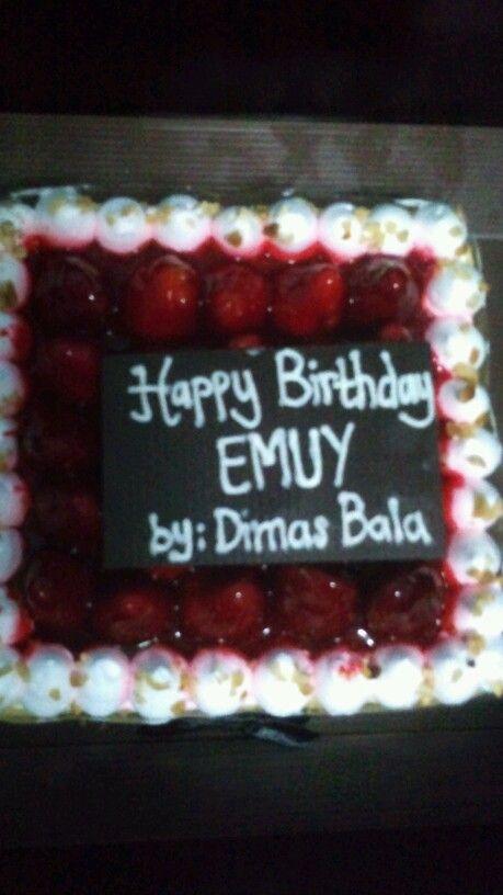 Emuy's Birthday cake