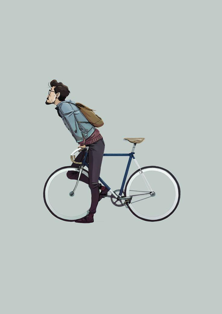 Bicycle by Señor Lemur