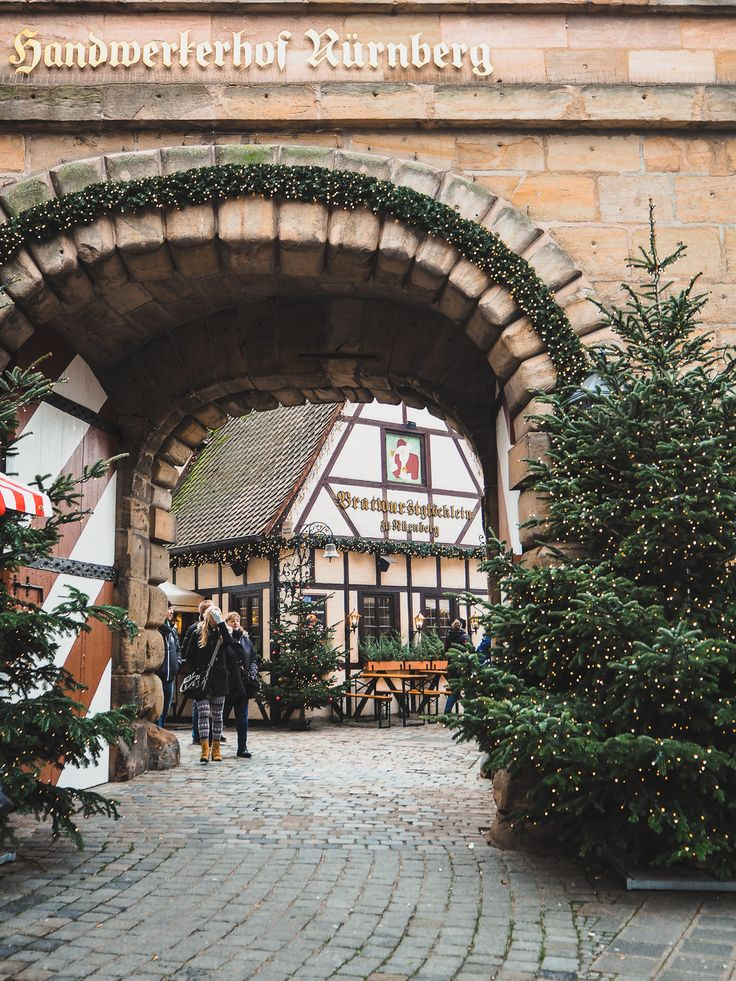 Advent time in Nuremberg, Germany
