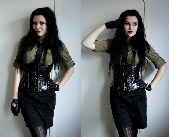 17 Best images about Military goth on Pinterest | Steam