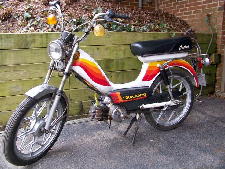 1978 Indian AMI50 Color variant Vehicles Motorcycles