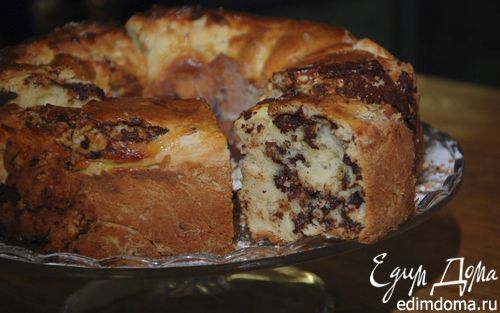 Шоколадная бабка с корицей    Кулинарные рецепты от «Едим дома!»