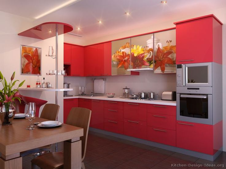 Genial [ Pictures Kitchens Modern Red Kitchen Cabinets Designs With That Pop The  Overall ]   Best Free Home Design Idea U0026 Inspiration
