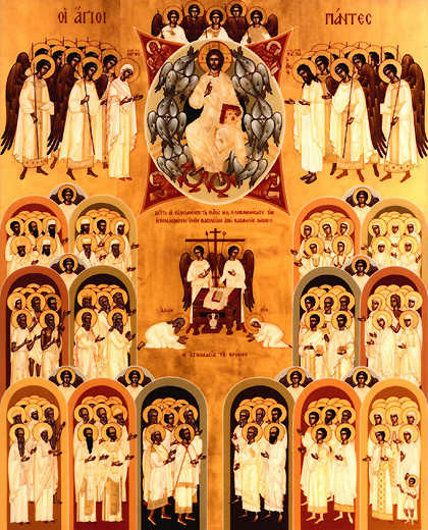 I LOVE All Saints Day!!  Great Icon and great link to info on the day.