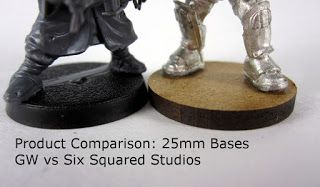 Must Contain Minis: Review: Bases by 6 Squared Studios