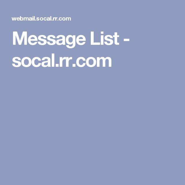 socal.rr.com webmail