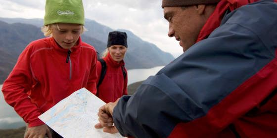 Travel safely in Norway - remember to bring a map!