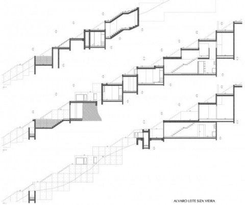 construire maison semi enterrée arquitectura Pinterest - plan de maison sur terrain en pente