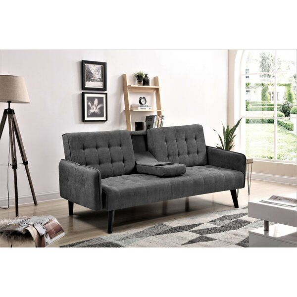 Payne 72 Square Arms Sleeper Contemporary Couches Sofas For Small Spaces Furniture