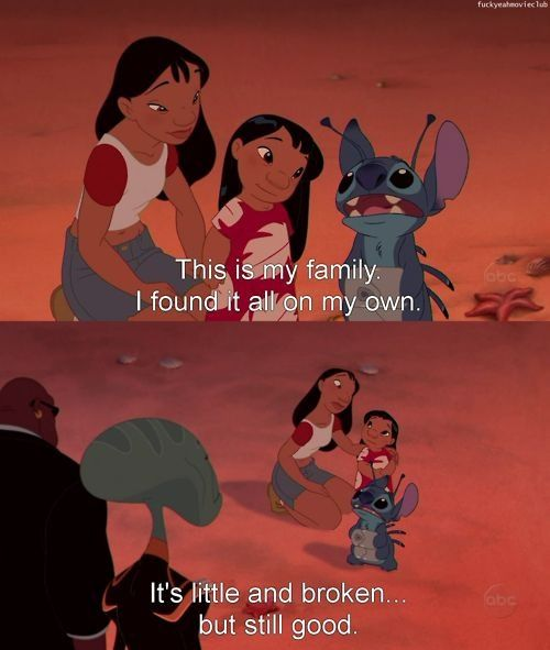This is still my favorite Disney quote because it means so much in just a few short words.