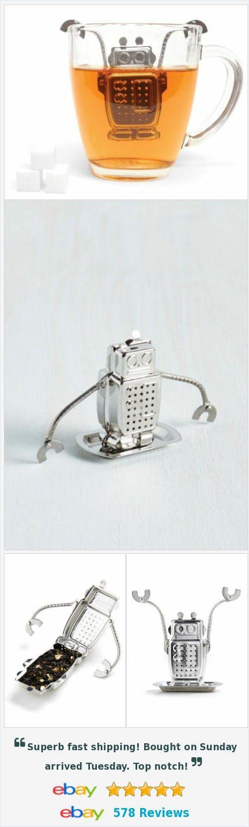 Robot Stainless Steel Tea Infuser Tea Brewer Novelty Gifts Creative Design http://www.ebay.com/itm/Robot-Stainless-Steel-Tea-Infuser-Tea-Brewer-Novelty-Gifts-Creative-Design-/172243942579?