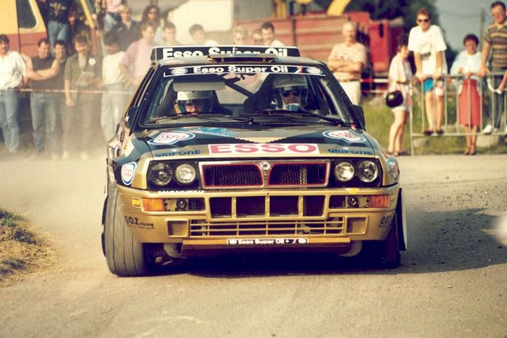 #Lancia #Delta Integrale rally car #italiandesign #RallyCar #Fanatic? Check out #RacingFriday at blog.rvinyl.com