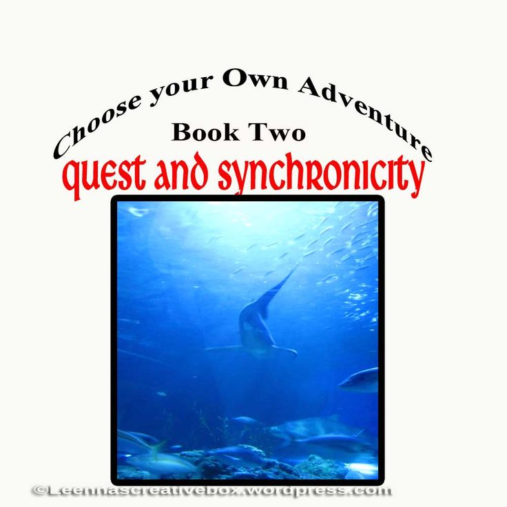 created for a Choose Your Own Adventure type blogpost. Part two of a four part post: Quest and Synchronicity