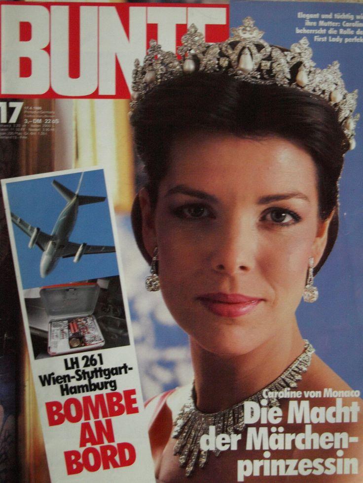bunte titelblatt nr 17 vom 1986 prinzessin caroline von monaco zeitschriften. Black Bedroom Furniture Sets. Home Design Ideas
