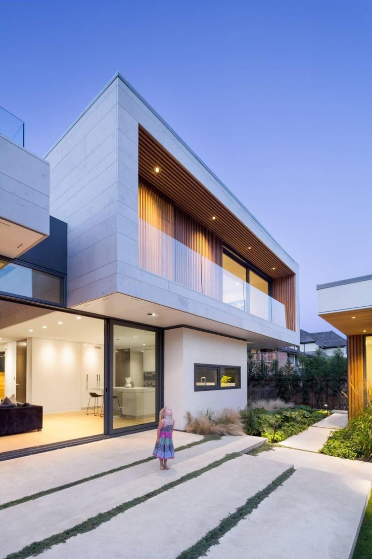 Architecture Modern Houses Exellent Houses Chancellor Residence By ...