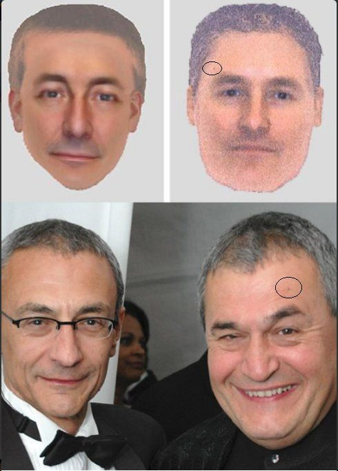 THE DAILY SHEEPLE  As the creep factor for the Podesta brothers continues to rise following a  slew of disturbing Wikileaks revelations, this picture is now making it's  way around social media in various forms.  One is a picture of Hillary campaign chair John with his brother Tony  Podesta, one of the top lobbyists in DC; the other is of a police sketch  made of men wanted in the 2007 abduction of Madeleine McCann.  Here's another. Notice anything?  Well the internet has…