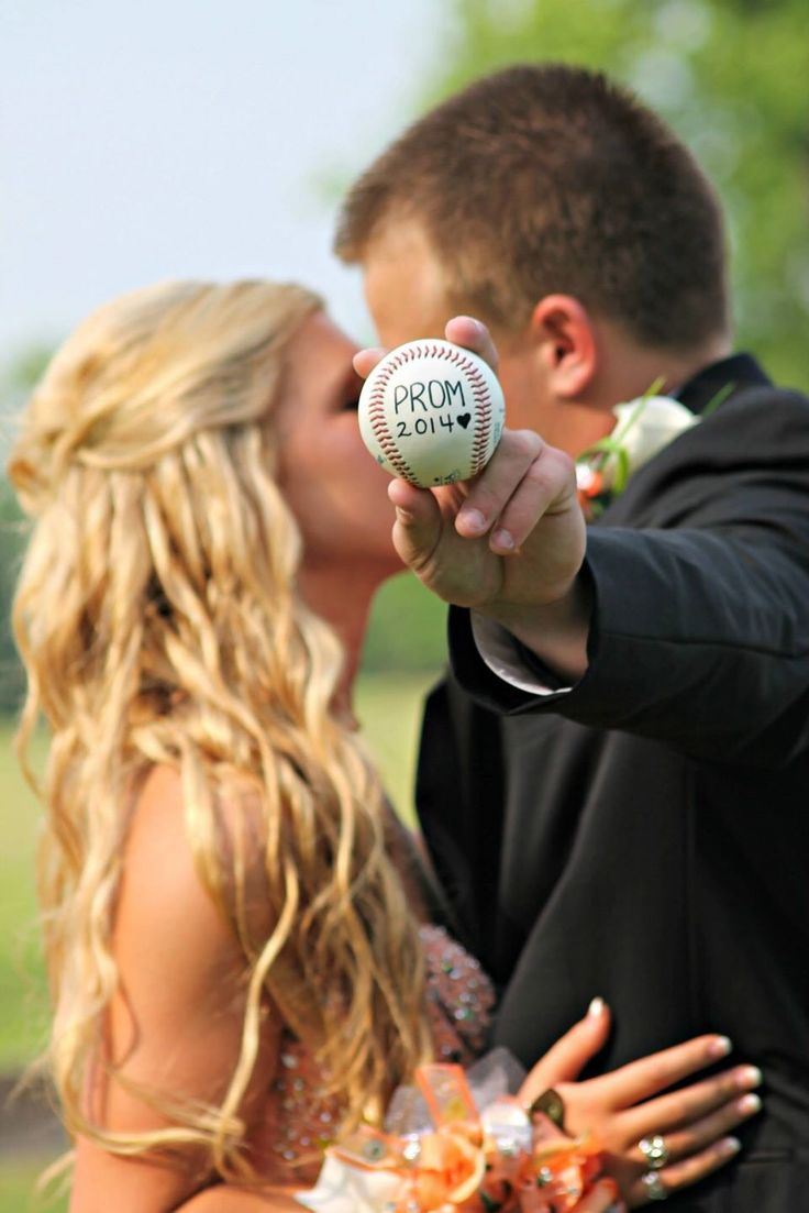 Prom Baseball Picture