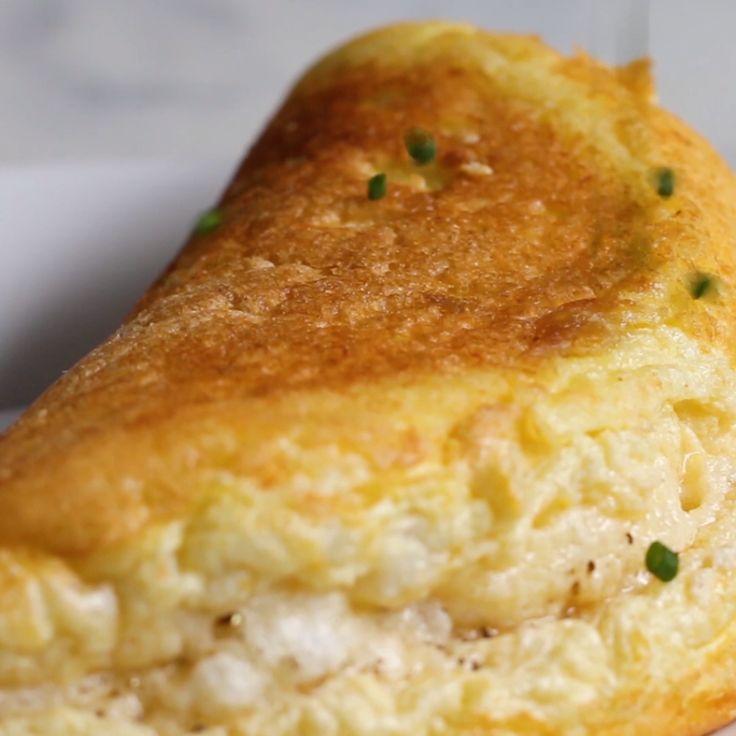 Das flauschigste Omelett   – Frühstück ist fertig!