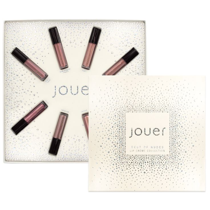 Best of Nudes Mini Lip Crème Gift Set Jouer Cosmetics HOLIDAY 2017 Collection $34