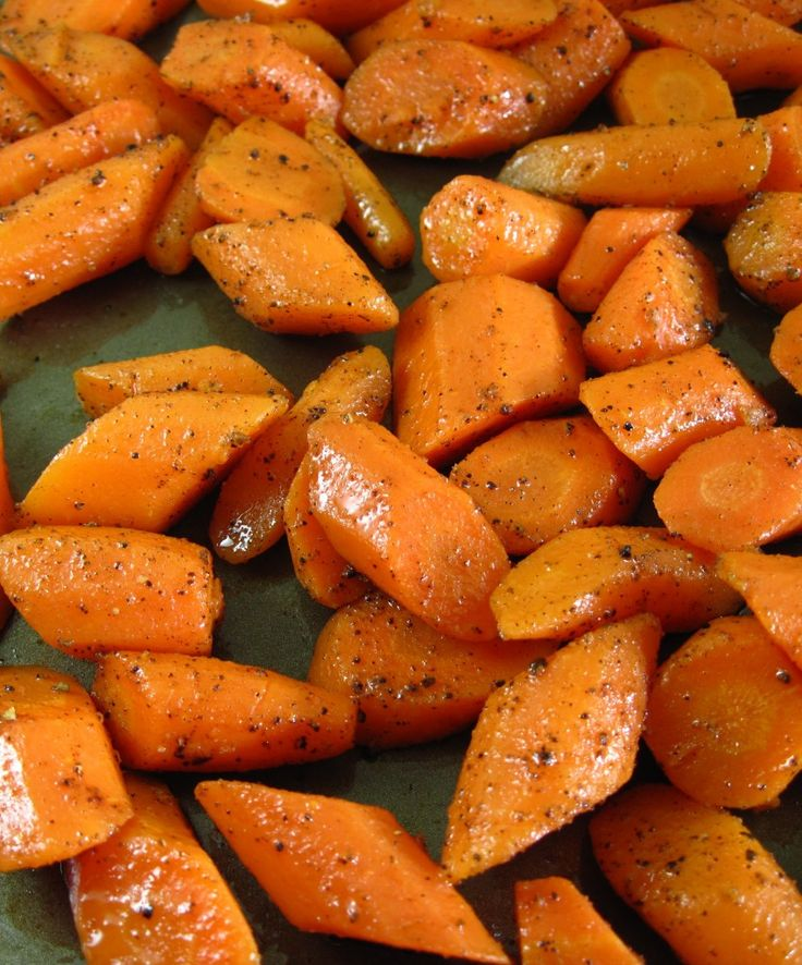 Roasted Carrots help bring their natural sweetness to the forefront. #17DayDiet (they're good!)