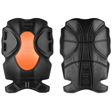 These Snickers XTR D3O Kneepads feature a hardwearing cut-resistant outer shell with technologically advanced shock absorbing D3O material on the inside that stiffens up on impact. Their ergonomic curved design allows for flexibility when walking, yet closes around the knee when bending down.