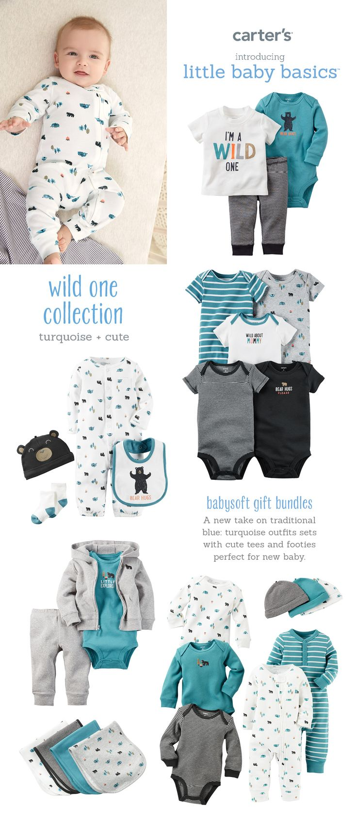 17 Best Images About Carter S Little Baby Basics On