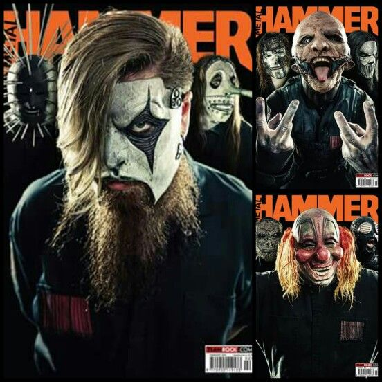 All nine members of SliPKnoT on three separate covers of Metal Hammer's February 2016 issue as they discuss their current world tour and a tribute to Motorhead's Lemmy.