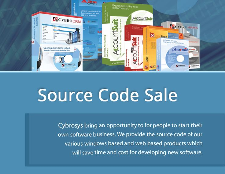 What do you think about getting a software product with its Source Code??