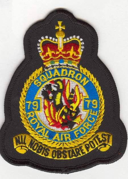 RAF-79Sqn crest