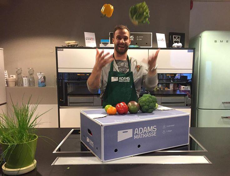 Adam og grønnsakene.