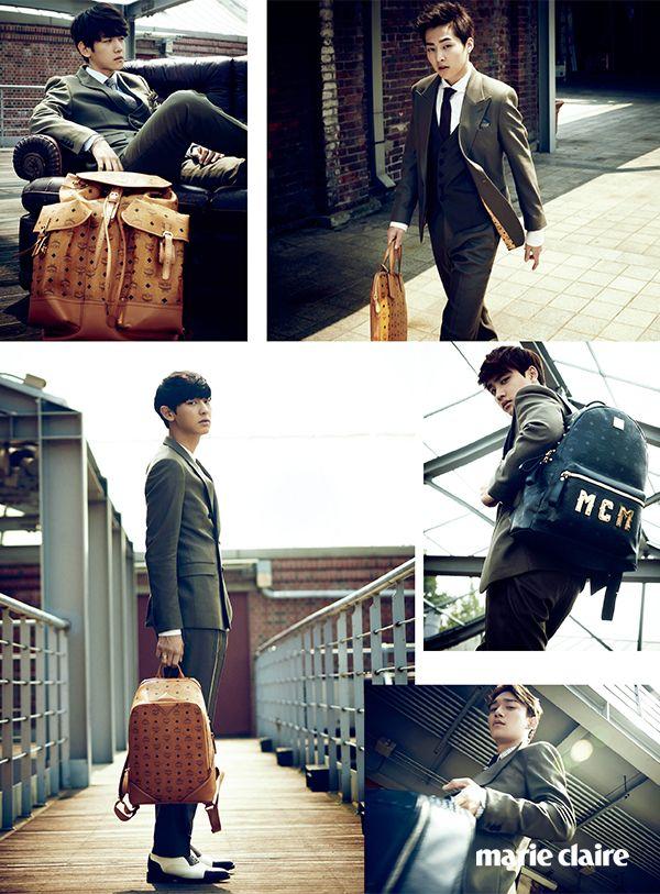 EXO Marie Claire Korea October 2014 Look 4