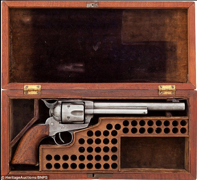 SOLD Buffalo Bill's1873 Revolver for $40,000 at HeritageAuctions