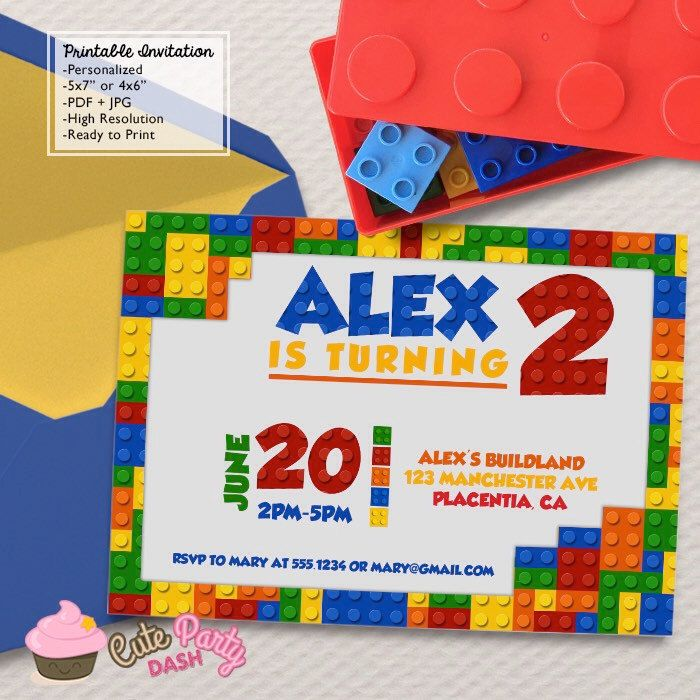 152 best LEGO Birthday Party images – Lego Party Invitations Printable