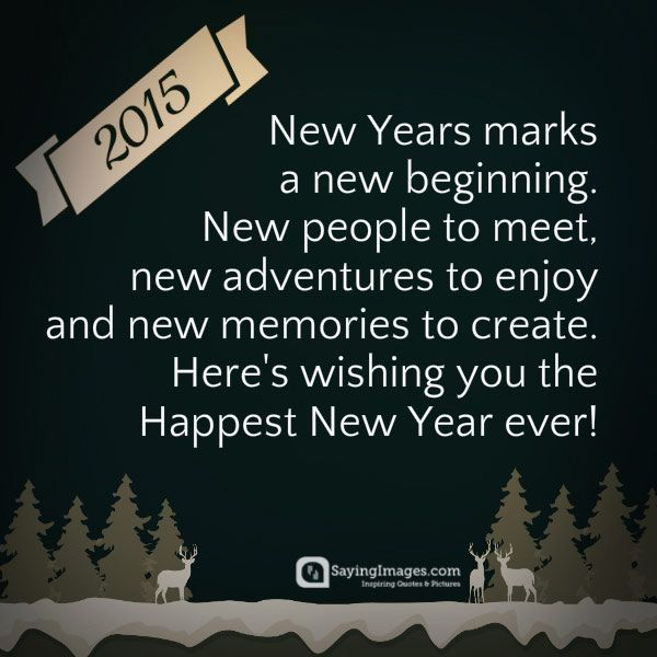 Best Happy New Year Quotes For Friends: Best 25+ Happy New Year Sayings Ideas On Pinterest