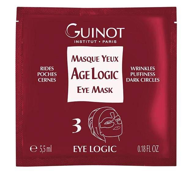 Ranskalaisen ammattikosmetiikkasarjan silmänympärysihon naamiot tasoittavat ryppyjä ja juonteita, napakoittavat ihoa ja poistavat turvotusta ja tummia silmänympäryksiä. Guinot Masque Yeux Age Logic 51 € / 4 kpl.