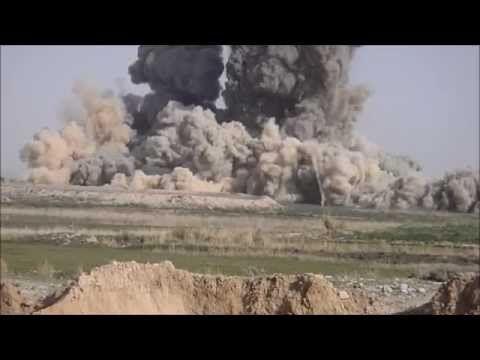 Six 1000 lbs. GBU-32 JDAM's Dropped on Taliban Compound - YouTube