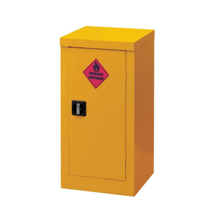 Hazardous Materials Storage Cabinets: With A 2 Point Locking System And  Adjustable Spill Retaining Shelf
