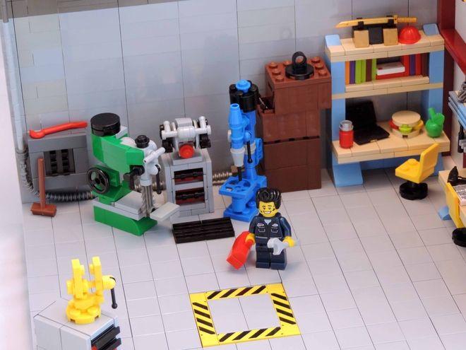 LEGO Ideas - Master Mechanic's Garage