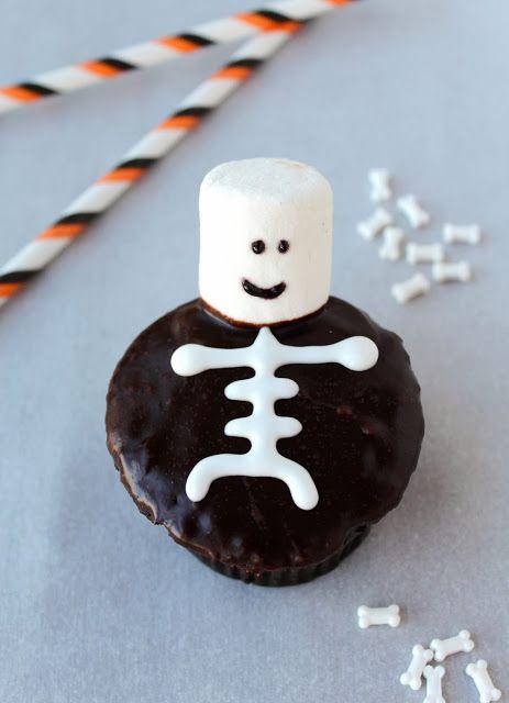 halloween skeleton desserts - Google Search