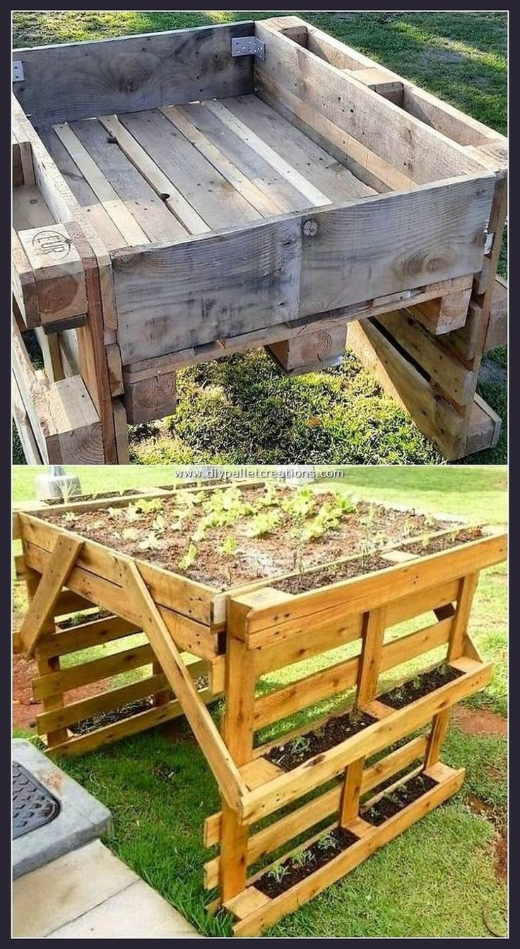 Come look into over 50 incredible pallet wood projects