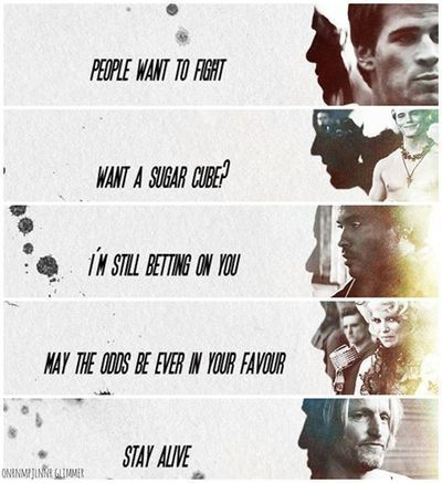 Catching Fire quotes one of my top favorite quotes from catching fire is... Want a sugar cube? -Finnick Odair