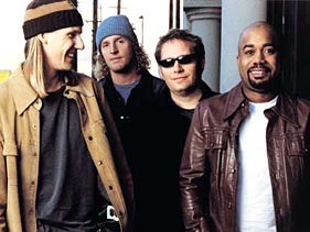 Hootie & the Blowfish    formed at the University of South Carolina, during the mid- '90s was the most popular band in America.