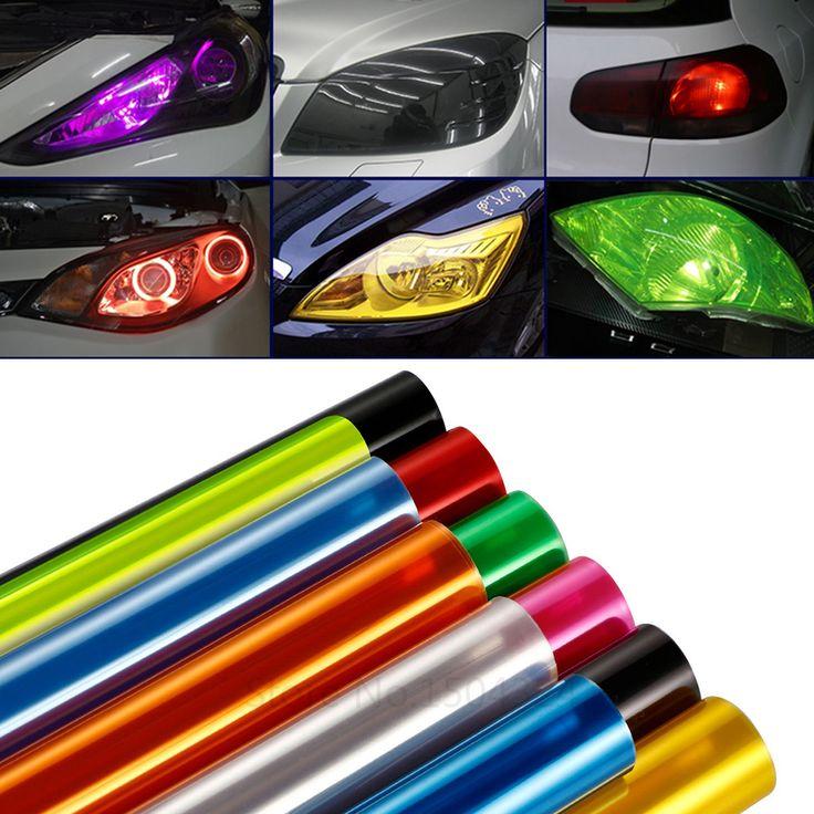 Car-Styling 30 CM X 100 CM Auto Car Luz trasera de la Linterna Tint Styling Impermeable Protectora Película Del Vinilo Accesorios del coche