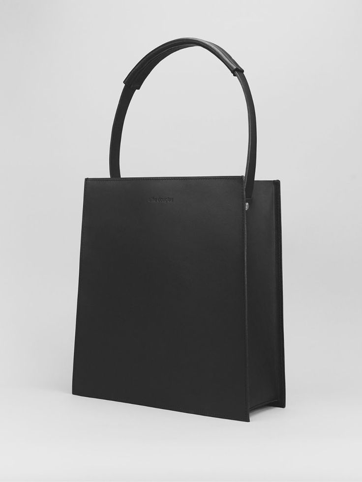 Tapered Tote - Alfie Douglas - minimal leather bags and backpacks handmade in…