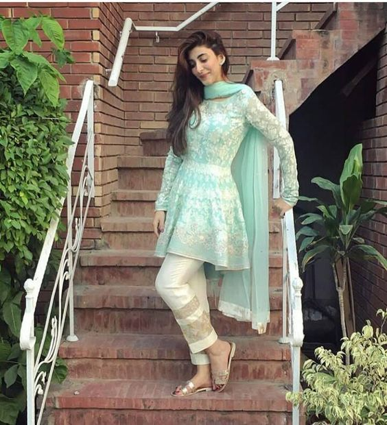 25 Best Ideas About Short Frocks On Pinterest Lacy Dresses Latest Pakistani Fashion And