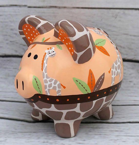 Tema selva pintado cerámica a mano artesanal personalizada