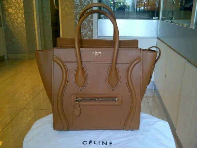 Like new Celine micro light cooper. Used once only