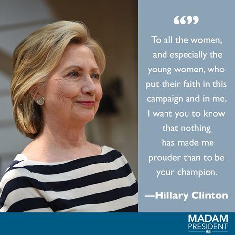 https://www.facebook.com/MadamPresident16/photos/a.384966118252442.92433.380516878697366/1196270093788703/?type=3... hillary clinton quote, women empowerment