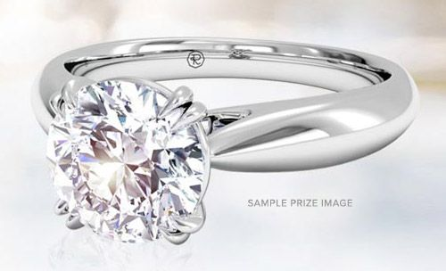 Check out this Sweepstakes to win a $5000 Diamond Engagement Ring on Ritani