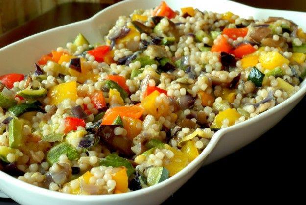 Ricette fregola sarda vegetariana